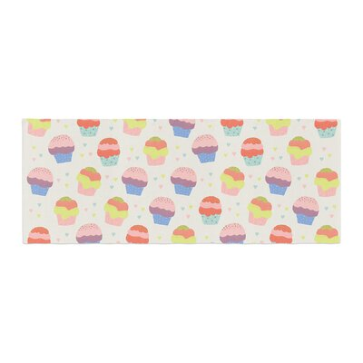 Cristina bianco Design Cupcakes Food Bed Runner