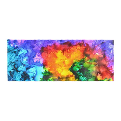 Claire Day Karma Paint Bed Runner