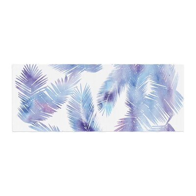 Draper Tropic Digital Bed Runner Color: Breeze/Blue
