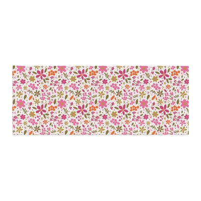 Carolyn Greifeld Flowers Garden Bed Runner