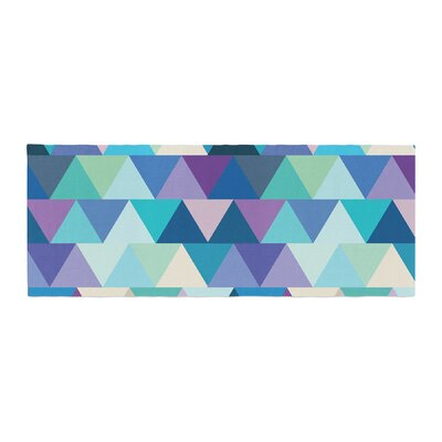 Draper Crystal Geometric Bed Runner