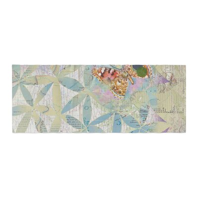 Catherine Holcombe Miraculous Recovery Butterfly Bed Runner