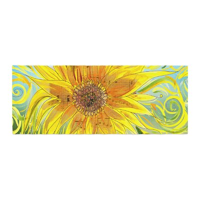 Catherine Holcombe Sunflower Symphony Bed Runner