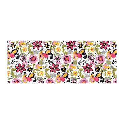 Carolyn Greifeld Pretty Florals Bed Runner