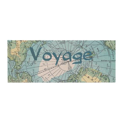 Catherine Holcombe Voyage Map Bed Runner
