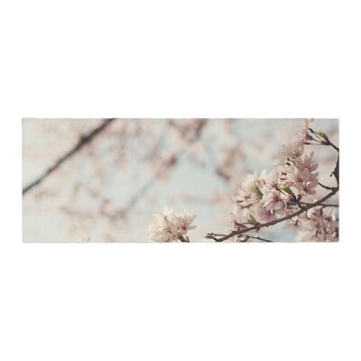 Catherine McDonald Japanese Cherry Blossom Bed Runner