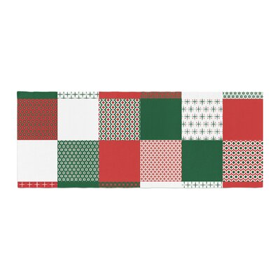 Carolyn Greifeld Holiday Patchwork Bed Runner