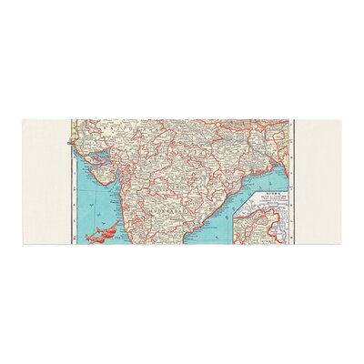 Catherine Holcombe Travel To India Bed Runner