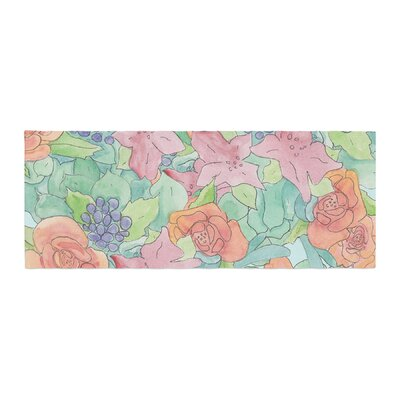 Catherine Holcombe Southwestern Floral Bed Runner