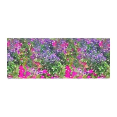 Carolyn Greifeld Water Florals Bed Runner