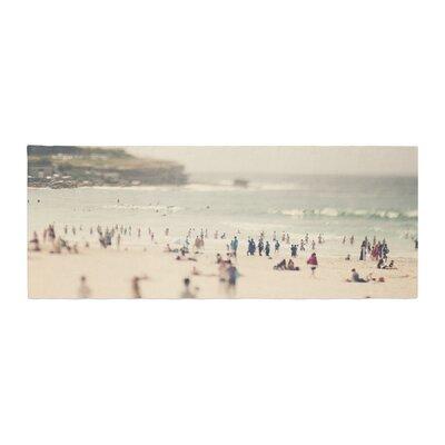 Catherine McDonald Bondi Beach Coastal People Bed Runner