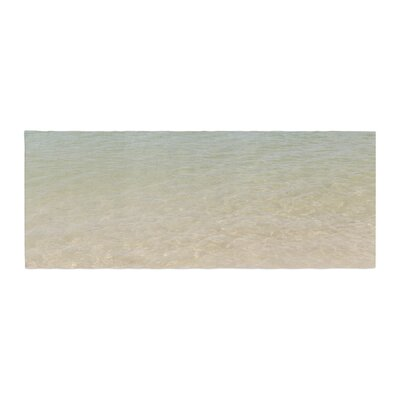 Catherine McDonald Ombre Sea Beach Photography Bed Runner