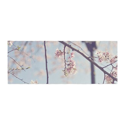 Catherine McDonald Walk with Me Cherry Blossom Bed Runner