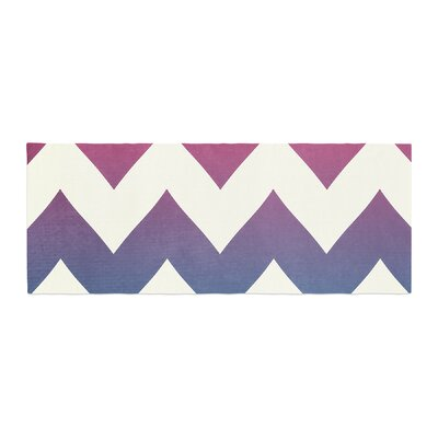 Catherine McDonald Fade Chevron Bed Runner