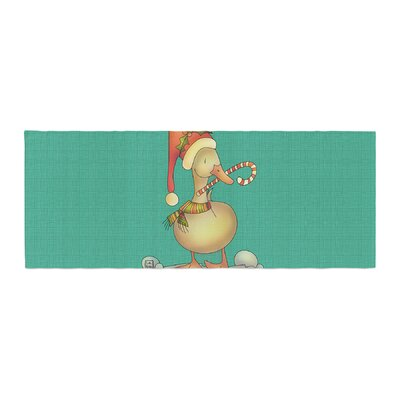 Carina Povarchik Xmas Duck Bed Runner