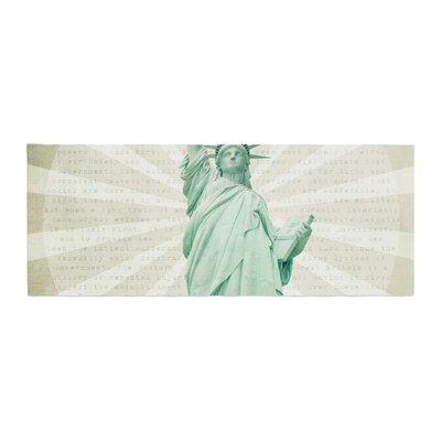 Catherine McDonald The Lady Statue of Liberty Bed Runner
