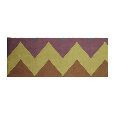 Catherine McDonald Mountain High Art Object Bed Runner