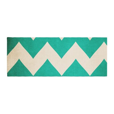 Catherine McDonald 2013 Chevron Bed Runner