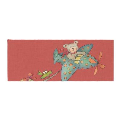 Carina Povarchik I Will Bring You the Moon Bear Bed Runner