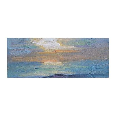 Carol Schiff Ocean Sunset Coastal Bed Runner