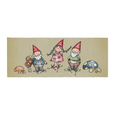 Carina Povarchik Gnomes Bed Runner