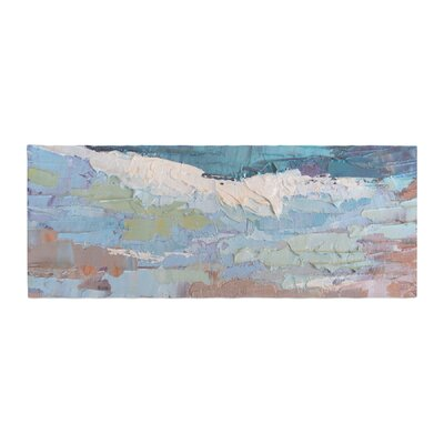 Carol Schiff Surf Dreams Painting Bed Runner