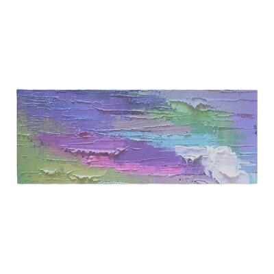 Carol Schiff Four Seasons - Spring Painting Bed Runner