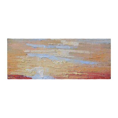Carol Schiff On the Rise Painting Bed Runner