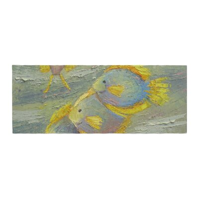 Carol Schiff Something Fishy Painting Bed Runner