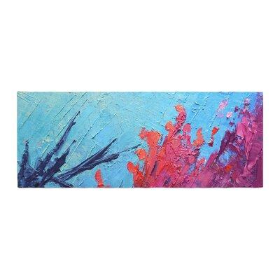 Carol Schiff Reef Painting Bed Runner
