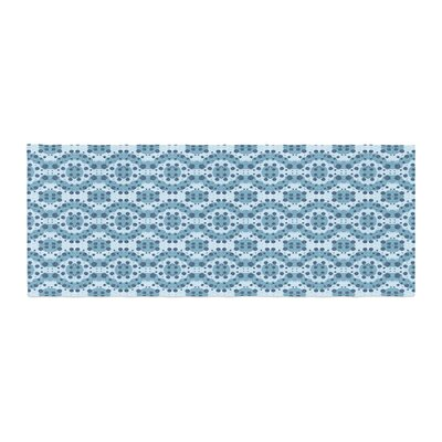 Empire Ruhl Circle Abstract Geometric Bed Runner