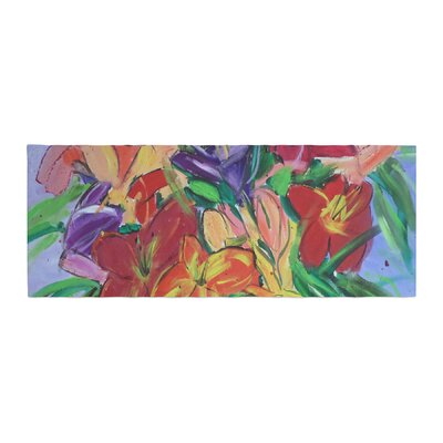 Cathy Rodgers Matisse Styled Lillies Flower Bed Runner