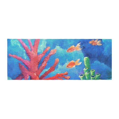 Carol Schiff Key Largo Painting Bed Runner