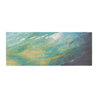 Carol Schiff Sea Dance Painting Bed Runner