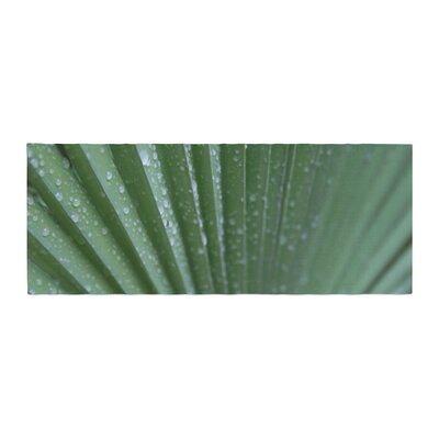 Cyndi Steen Palm Frond Nature Bed Runner
