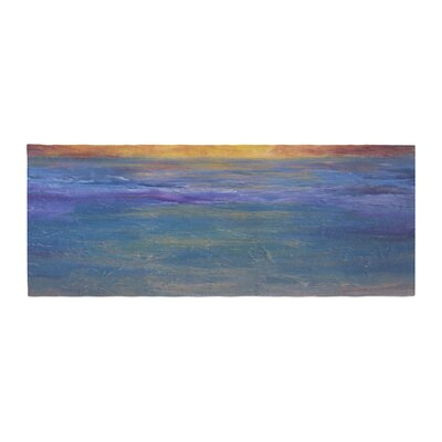 Cyndi Steen Sky on Fire Bed Runner