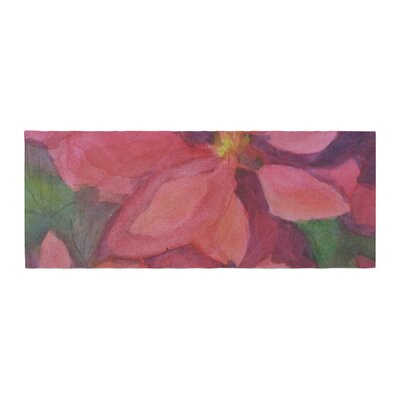 Cyndi Steen Cool Poinsettias Bed Runner
