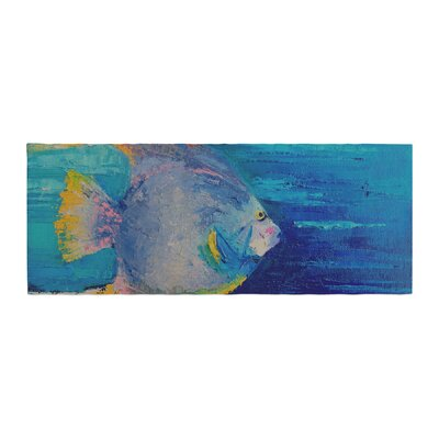 Carol Schiff Tropical Fish II Painting Bed Runner