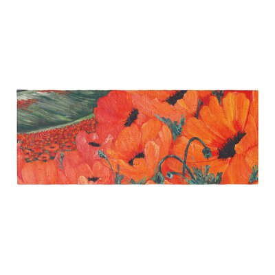 Christen Treat Poppies Bed Runner