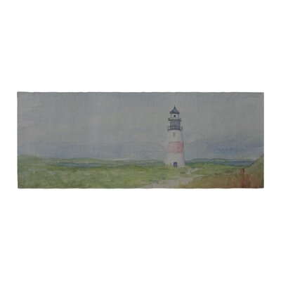 Cyndi Steen Sankaty Lighthouse Bed Runner