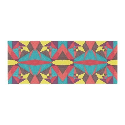 Empire Ruhl Abstract Insects Bed Runner