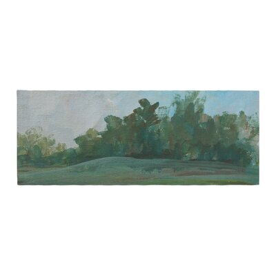Cyndi Steen Stand of Trees Bed Runner