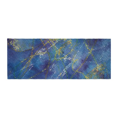 Cyndi Steen Deep Abstract Bed Runner
