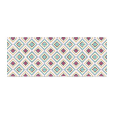 Empire Ruhl Hip Diamonds Diamond Pattern Bed Runner