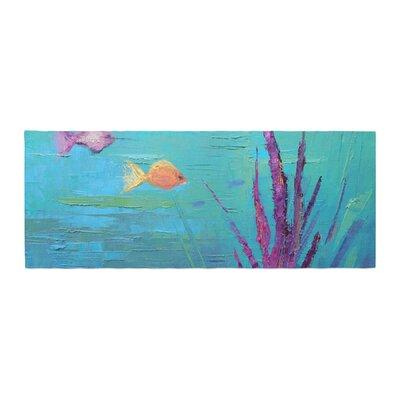 Carol Schiff Key Largo Reef Painting Bed Runner