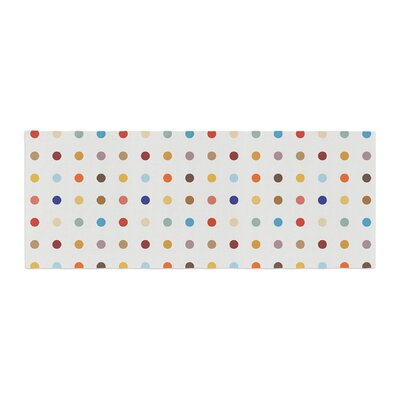 Empire Ruhl Fall Dots Digital Bed Runner