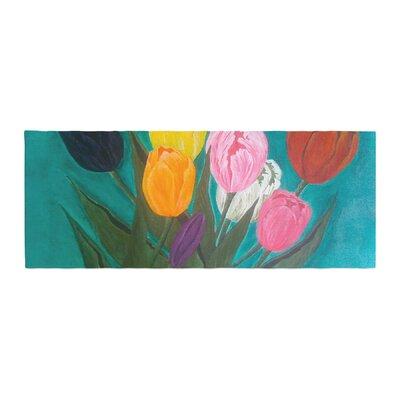 Christen Treat Tulips Flower Bed Runner