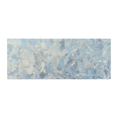 Frosted Marble Photography Bed Runner
