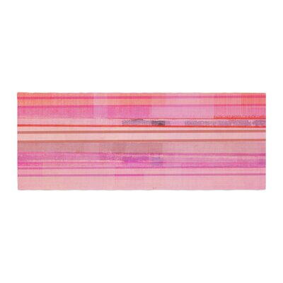 CarolLynn Tice Starwberry Shortcake Stripes Bed Runner