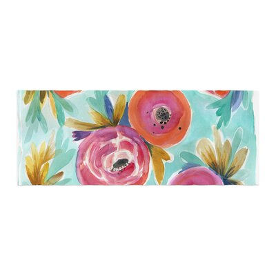 Crystal Walen Celestial Rain Flower Bed Runner